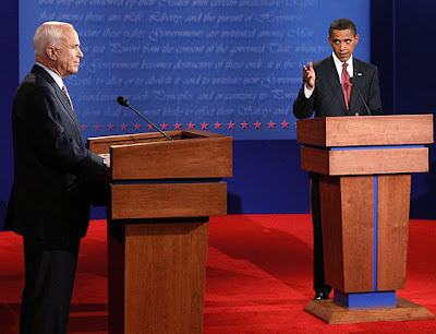 debate entre Obama y McCain