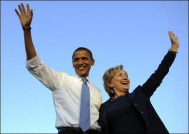 Hillary Clinton pide votar por Obama en mitin conjunto florida