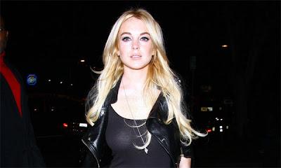 Lindsay Lohan votó por Obama