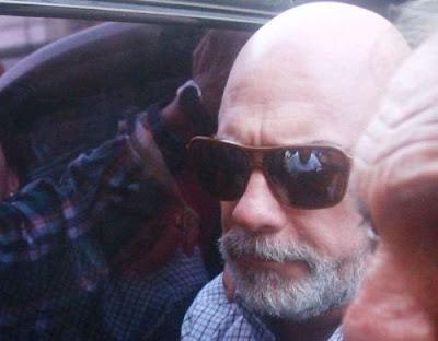 Rómulo León ingresa a la carceleta del Poder Judicial
