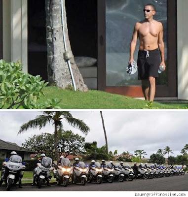 Obama en traje de baño: ¿Está su seguridad garantizada?