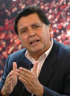 El presidente Alan García defiende el asilo político otorgado al líder de la oposición venezolana Manuel Rosales