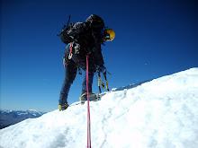 A pasos de la cumbre