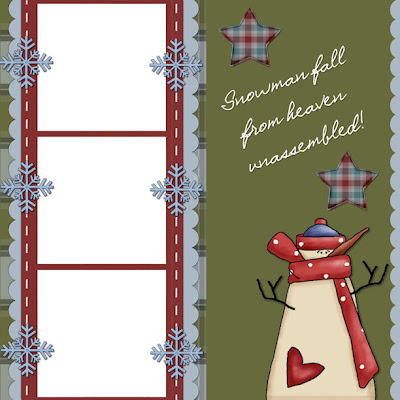 http://printablesbysweetiepea.blogspot.com/2009/11/snowman-premade-scrappy-layout-freebie.html