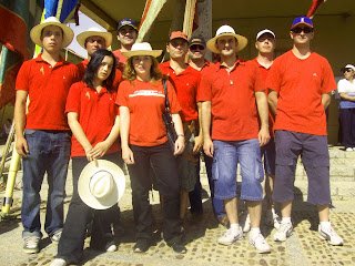 Grupo de la asociación Pendón de Carrizo de la Ribera