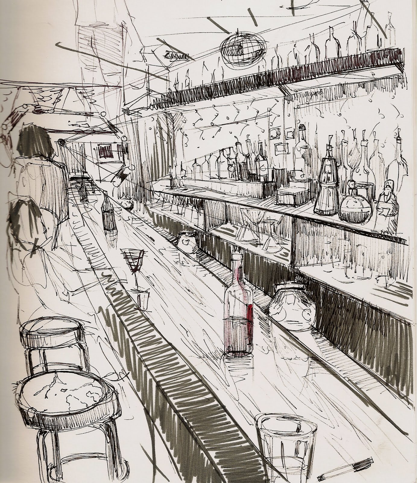 Bar Sketches