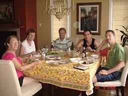Jantar em família!