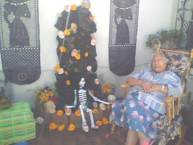 ofrenda día de muertos, México