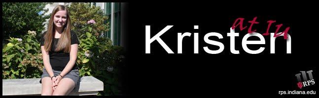Kristen at IU