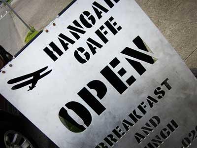 Hangar  Cafe Playa Vista Ca
