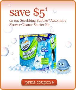 scrubbing bubbles shower machine