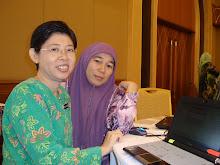 Bersama Pn Chiew Wye Mei, SMK Taman Medan