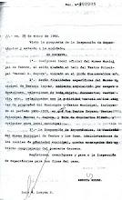 Documento de designación oficial del Museo Municipal del Teatro