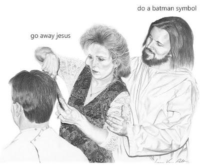 jesus frisiert