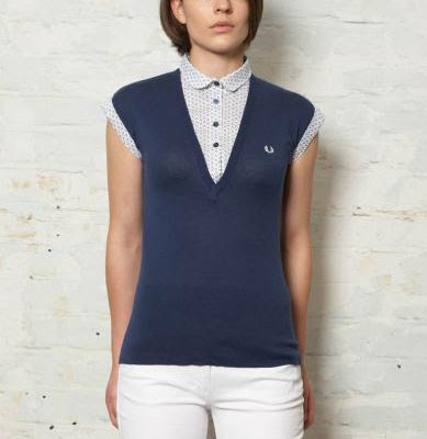 Fred Perry Mock Layer Sweater [FredPerry]