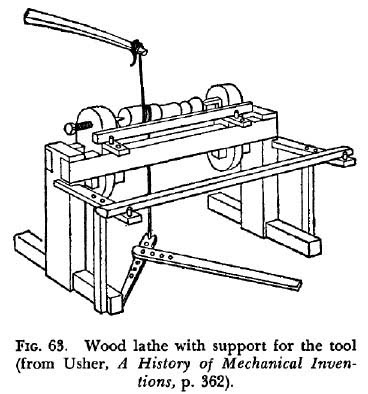 Wonderful Spring Pole Lathe Details  A Woodworker39s Musings