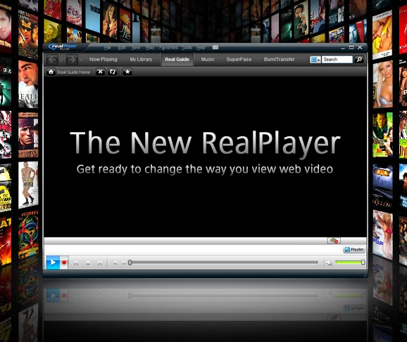 RealPlayer Gold full screenshot