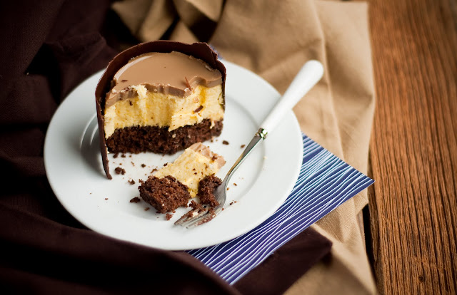 Desserts for Breakfast: Mango Mousse Espresso Chocolate Cake