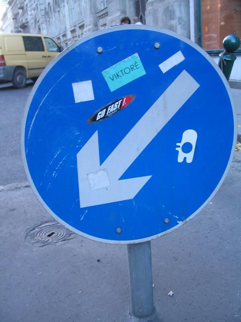Budapest, street art, politika, matrica, Orbán Viktor, Victor, Viktoré
