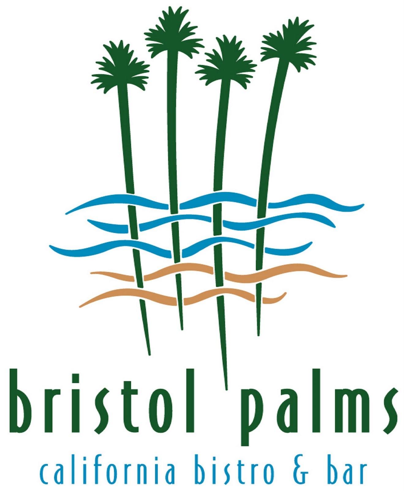 Restaurant with palm tree logo