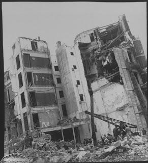 Fotografía de Kati Horna, Casas bombardeadas en la Guerra Civil Española