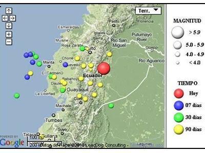 Sismolgico Nacional on El Instituto Geofisico De La Escuela Politecnica Nacional De Ecuador