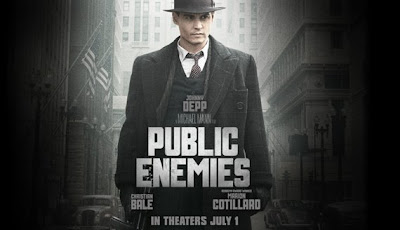 Public Enemies directed by Michael Mann