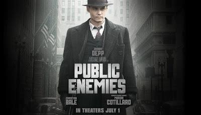 Public Enemies directed by Michael Mann