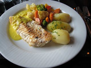 Pan-fried Cod Fish