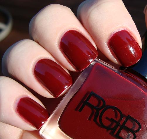 Get Nailed: RGB Crimson
