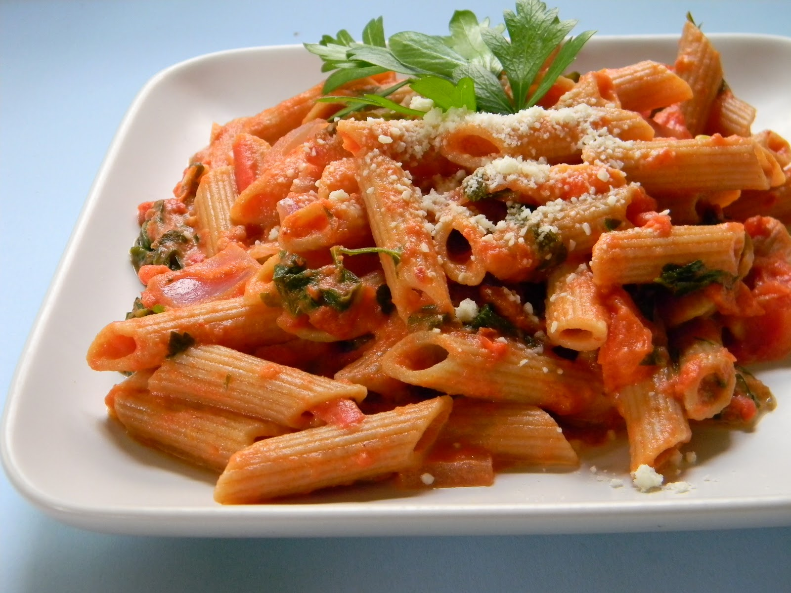 Whole Wheat Penne alla Vodka | Eat Good 4 Life