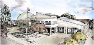 Artists concept of new LAFD Station 84. Click to learn more...