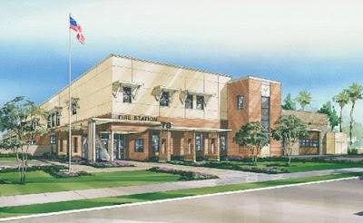 Artists Concept of LAFD Station 78