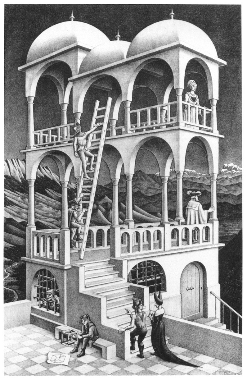 essay on m.c. escher Learn about the life and work of dutch graphic illustrator m c escher explore his designs for impossible architecture, infinity loops, and.