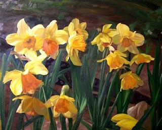 Lezioni di arte for Quadri a olio fiori
