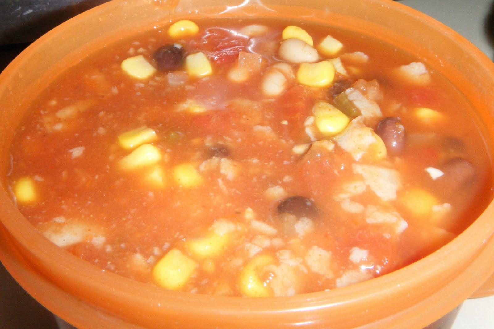 Out Of The Box Into The Kitchen: Vegetarian Tortilla Soup