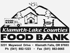 Link to Klamath-Lake County Food Bank Website and Resources: