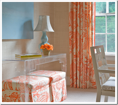 Purple house wishlist blue and orange dining room for Blue and orange room