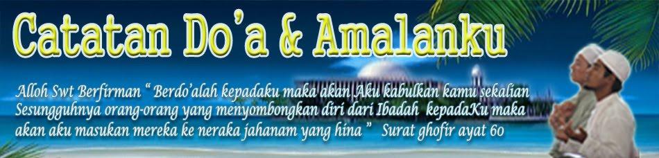 Doa - doa di Alqur'an dan Alhadits