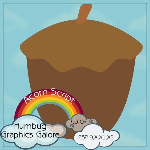 http://humbuggraphicsgalore.blogspot.com/2009/09/acorn-script.html