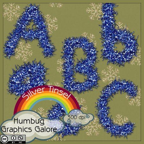 http://humbuggraphicsgalore.blogspot.com/2009/12/blue-tinsel-alpha.html
