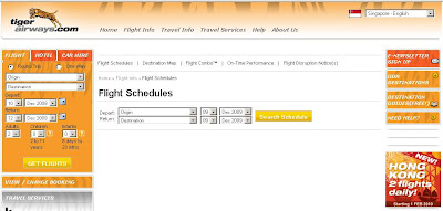 Tiger Airways : Online Booking, Flight Schedule & status - www.tigerairways.com