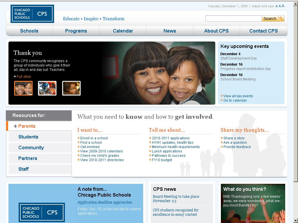 Cps student portal login page click for details cps student portal