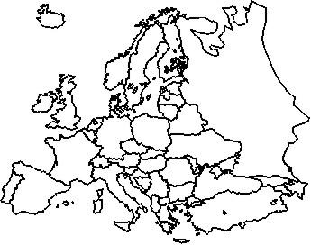 EUROPA - CONTORNO