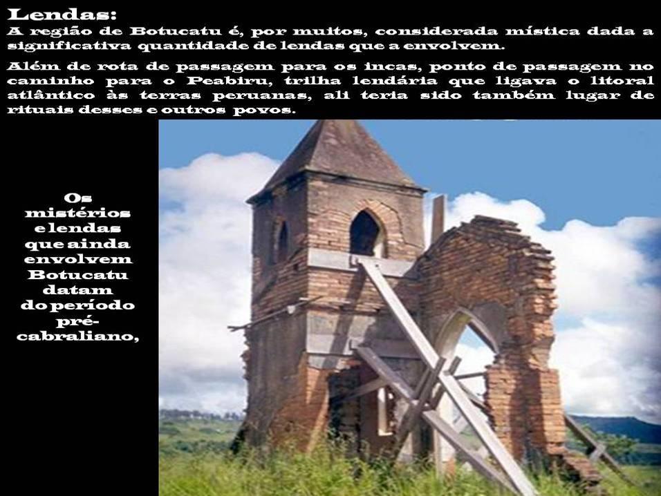Ruinas da Igreja ao pé da Cuesta