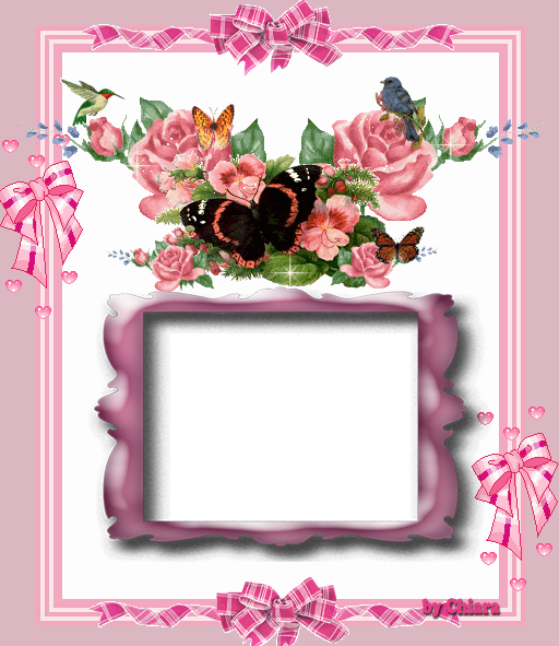 Molduras Para Fotos Com Flores E Borboletas - moldura de flores e borboleta Baidu