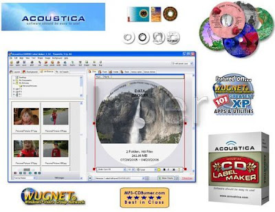 Acoustica CD DVD Label Maker 3.32