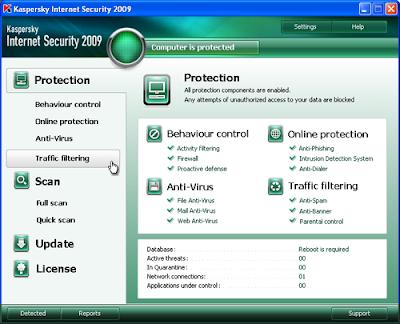 Kaspersky Internet Security 2009 8.0.0.506