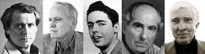 DeLillo, McCarthy, Pynchon, Roth e Updike