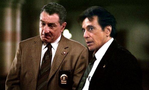 De Niro e Pacino em A Dupla Face da Lei, de Jon Avnet